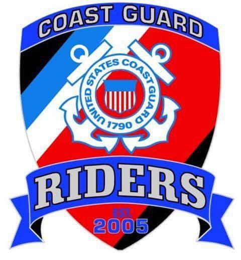 Coast Guard Riders logo