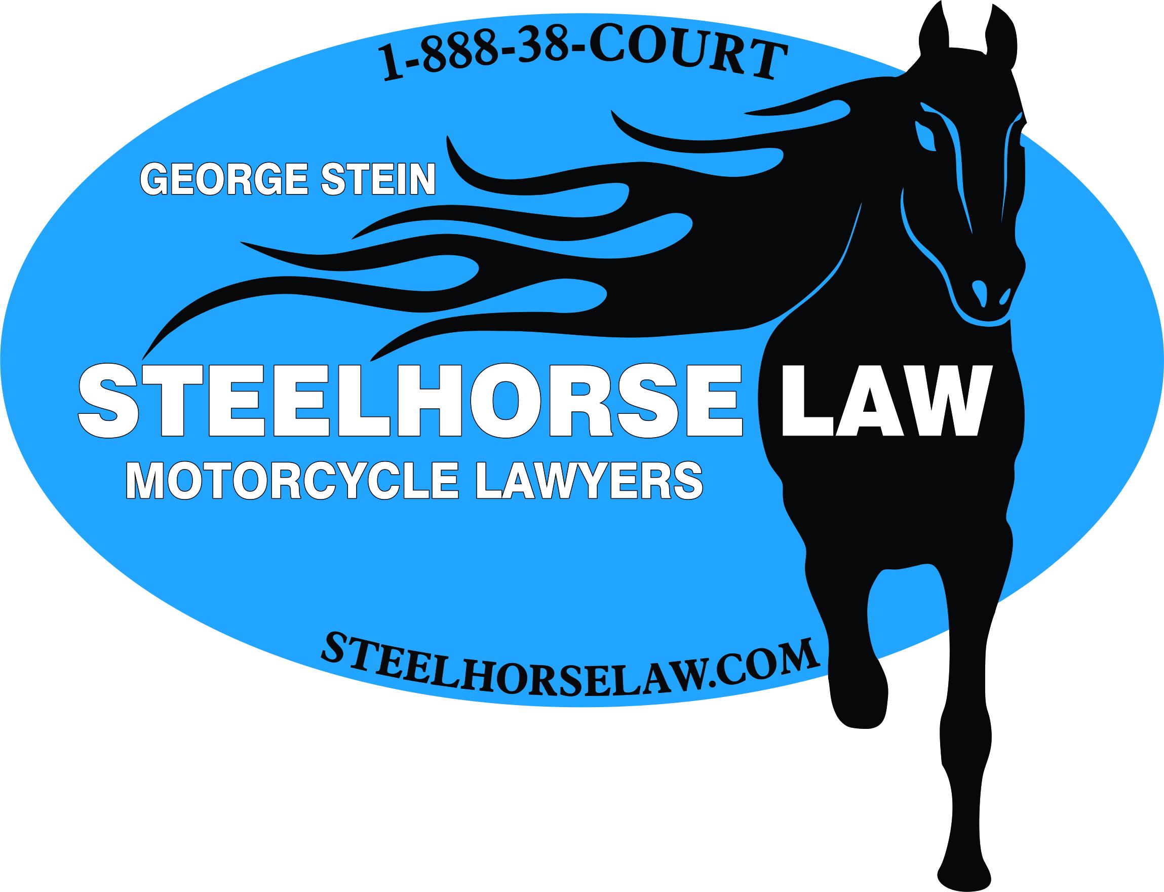 SteelhorseLawBlueOval logo