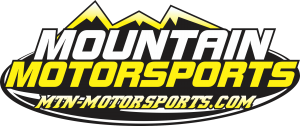 mountain motorsports logo with website